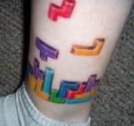 Diseños de videojuegos para un tatuaje