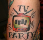 Tatuajes con diseños de tv
