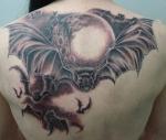 Tatuajes de los murciélagos