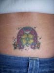 Buena suerte con un tatuaje de herradura