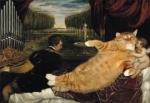El Gato reflejado en obras de Arte