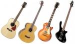 La guitarra eléctrica y la guitarra clásica