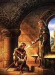 Galahad y Lancelot los caballeros del Rey Arturo