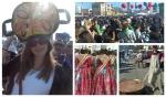 Estudiantes de español participan en el concurso de paellas en el puerto de Valencia