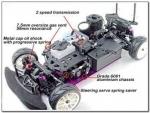 Primer coche de radio control, eléctrico o de gasolina
