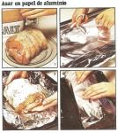 Técnicas para asar en papel aluminio