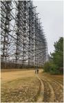 Estructura de acero con medio kilómetro de largo en Ucrania