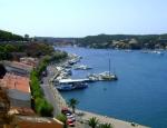 Mahón en la isla de Menorca