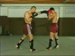 Directo de derecha en Kick Boxing (Al Rostro)