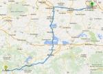 Trazar una ruta entre dos puntos con Google Maps