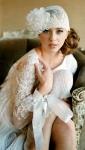 Vestidos de novia años 20 y el look nupcial