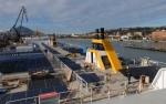 El 'ferry híbrido' con energía fotovoltaica y gas natural más grande del mundo se construye en Bilbao