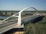 Estructura del Puente del Tercer Milenio de Zaragoza