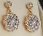 Diseños vintage, la última tendencia en pendientes de diamantes