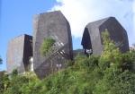 Concepto de construcción de la Biblioteca España de Medellín