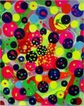 """Puntillismo Abstracto """"Un nuevo estilo por el Pintor Gabino Amaya Cacho"""""""