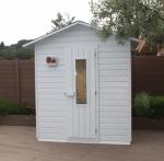 Las saunas de exterior un complemento perfecto para su piscina o jardín y un gran beneficio para su salud