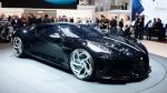 Bugatti presentó el coche más caro jamás construido