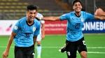 Selección sub 17 de Uruguay es líder de su grupo en el Sudamericano