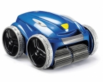 Robot limpiafondos Zodiac mejor amigo propietario de piscina.