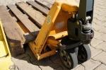 Transpaleta pesadora manual u electrica