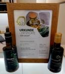 ORO DEL VINALOPÓ, premiado en el certamen de aceites virgen extra ecológicos de Núremberg, Alemania