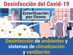 Desinfectar Coronavirus mediante producción de Ozono