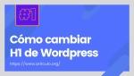 Cambiar los H en los títulos de solo el sidebar en WordPress